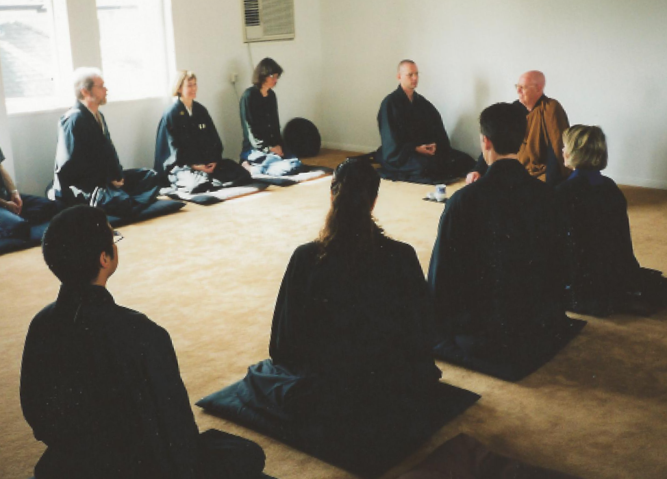 17. First Dharma talk in new zendo