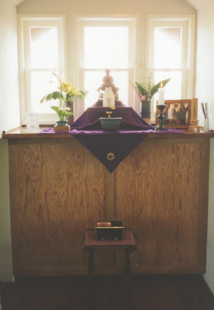 18. Altar in Zendo