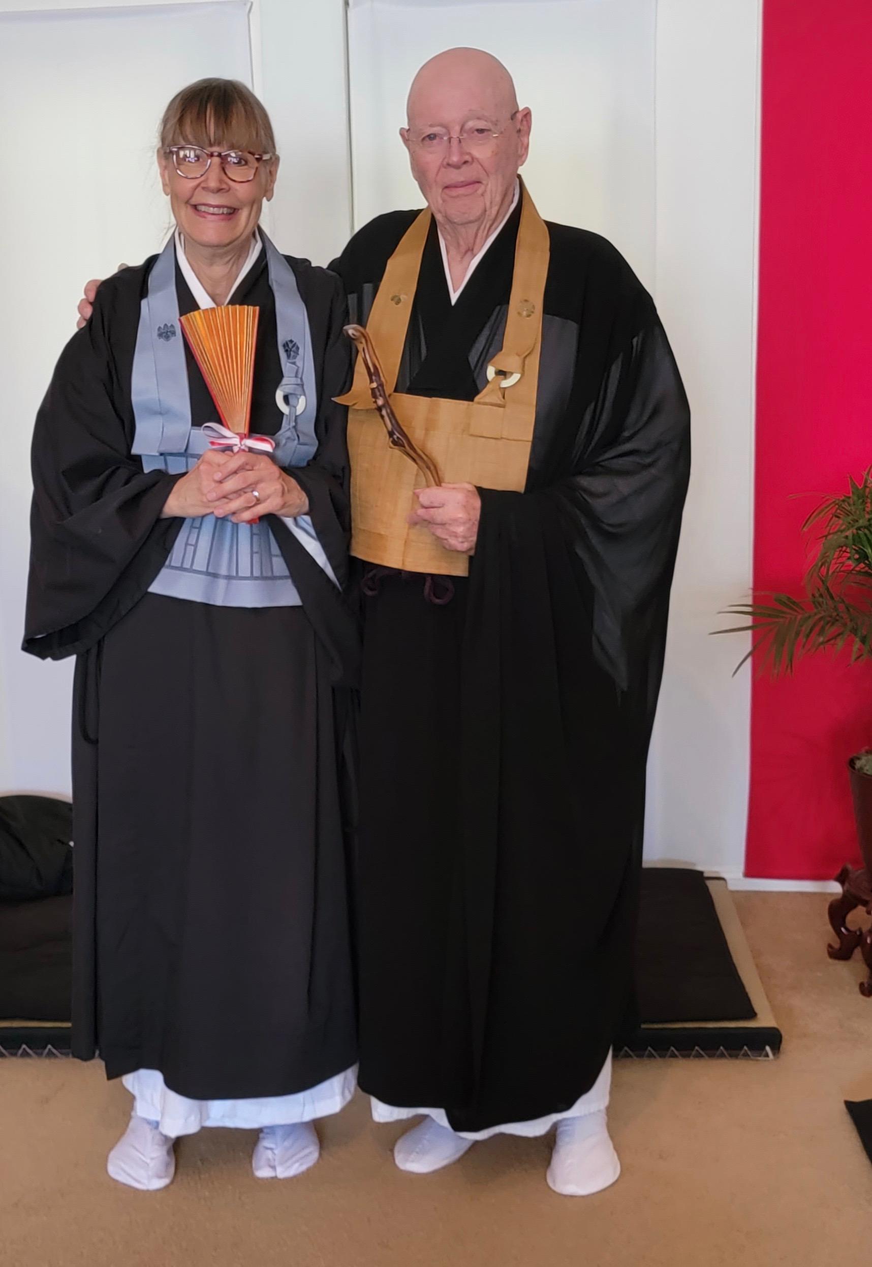 Kujaku and Roshi